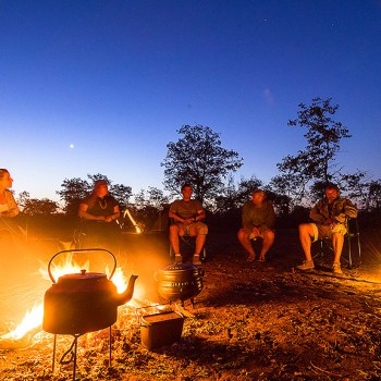 Kruger National Park Cooking By The Fire