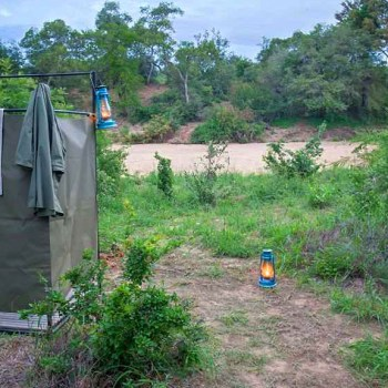 Bateleur Mobile Camp Outdoor Bush Shower