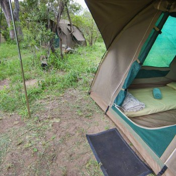 Bateleur Mobile Camp Tent Close Up