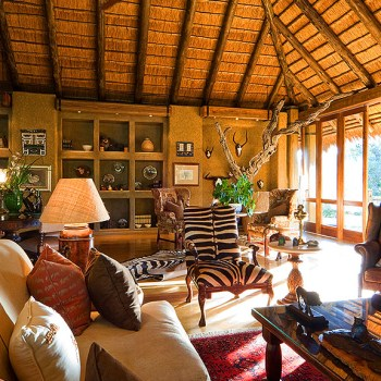 Camp Jabulani Guest Lounge