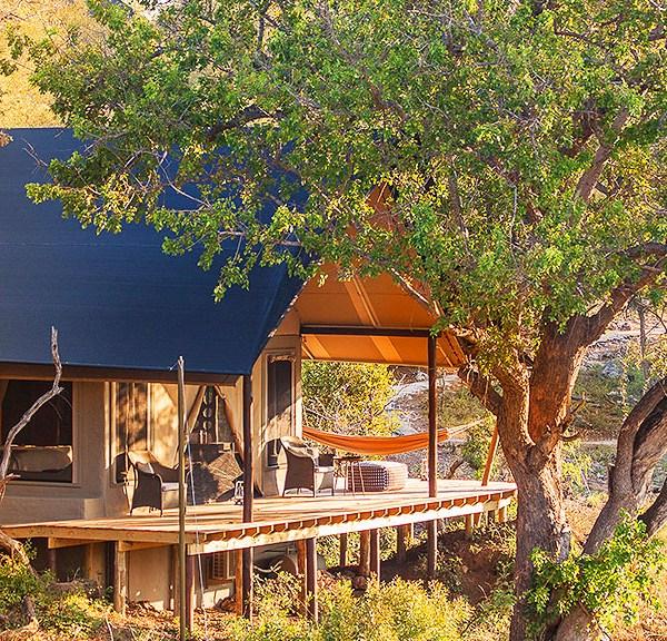 Garonga Safari Camp Accommodation Exterior