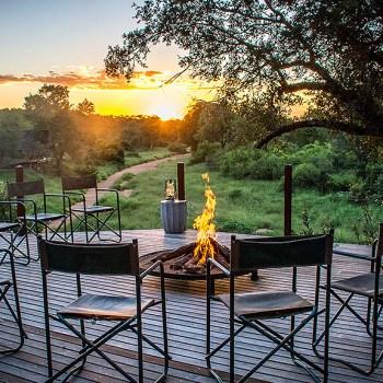 Garonga Safari Camp Fire Pit