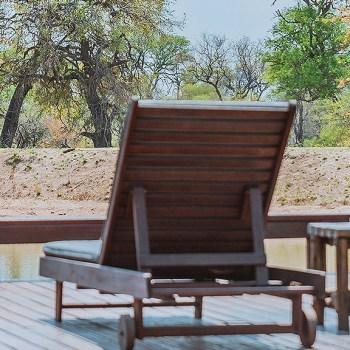 Gomo Gomo Game Lodge Pool Deck