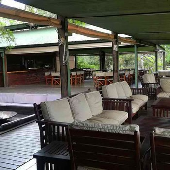 Honeyguide Khoka Moya Camp Outdoor Guest Area