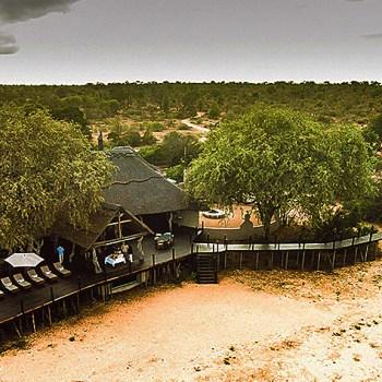 Kambaku River Sands Aerial View Of Lodge