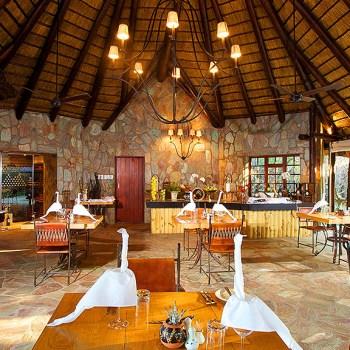 Kapama Buffalo Camp Dining Area