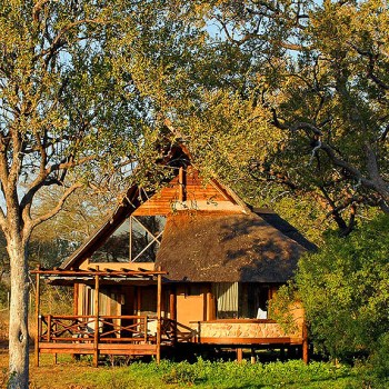 Lukimbi Safari Lodge Accommodation Exterior DayTime