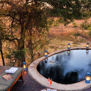 Lukimbi Safari Lodge Pool Area