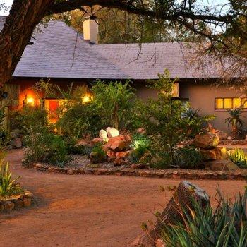 Mjejane River Lodge Garden