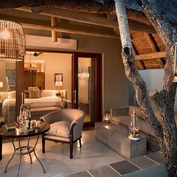 Ngala Safari Lodge Cottage Verandah