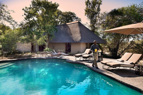 Ngala Safari Lodge Family Suite Pool