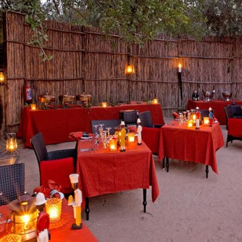 Royal Malewane Boma Evening