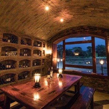 Shumbala Lodge Cellar