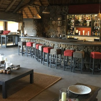 Simbavati River Lodge Bar