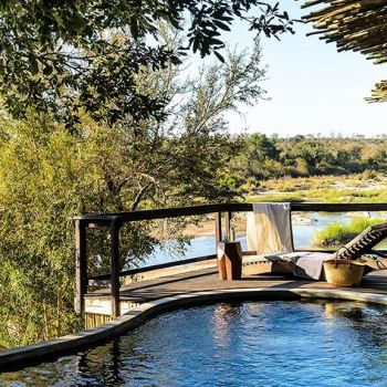 Singita Boulders Lodge Family Suite Pool