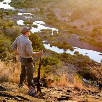 Singita Sweni Lodge Walking Safari Guide