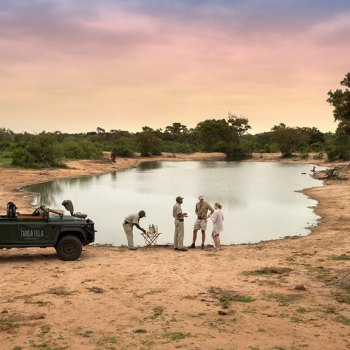 Tanda Tula Safari Camp Bush Dining