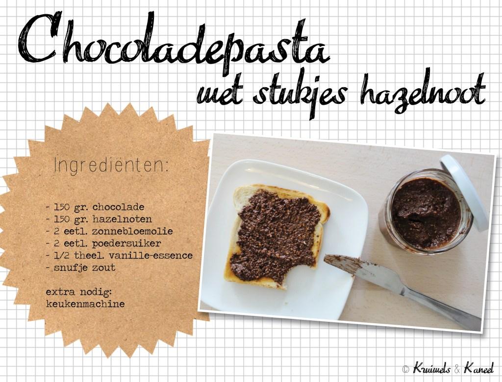 Chocoladehazelnootpasta