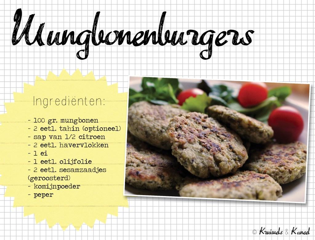 Mungbonenburgers