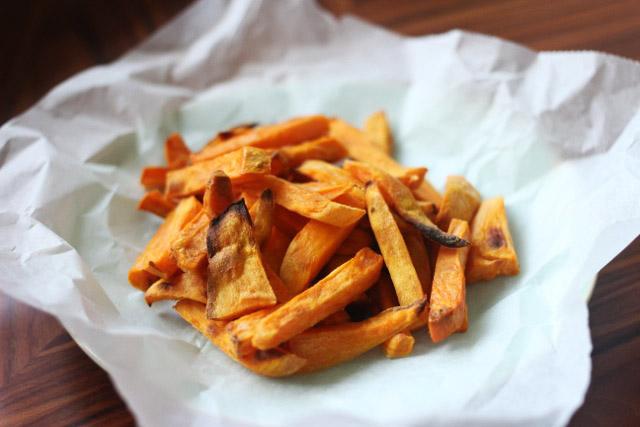 zoete aardappelfrietjes