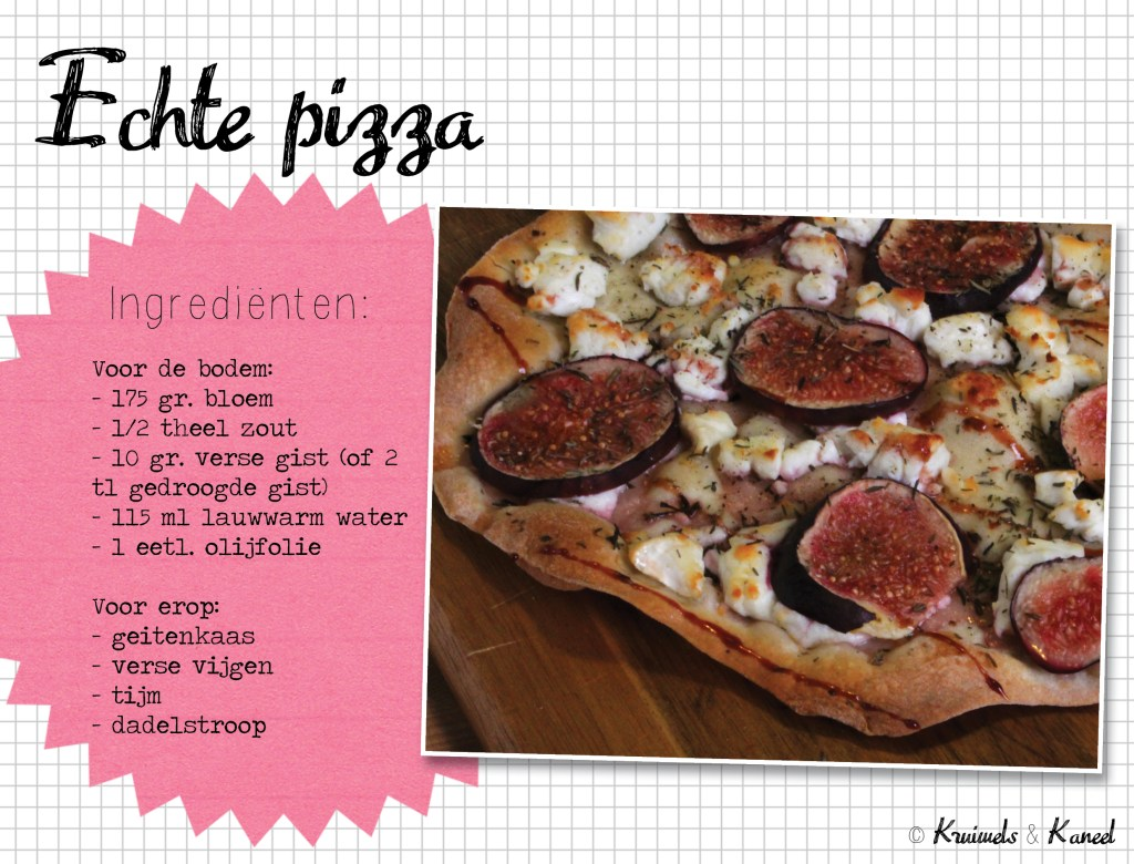 echte pizza