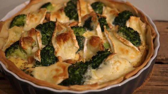 broccoli brie quiche