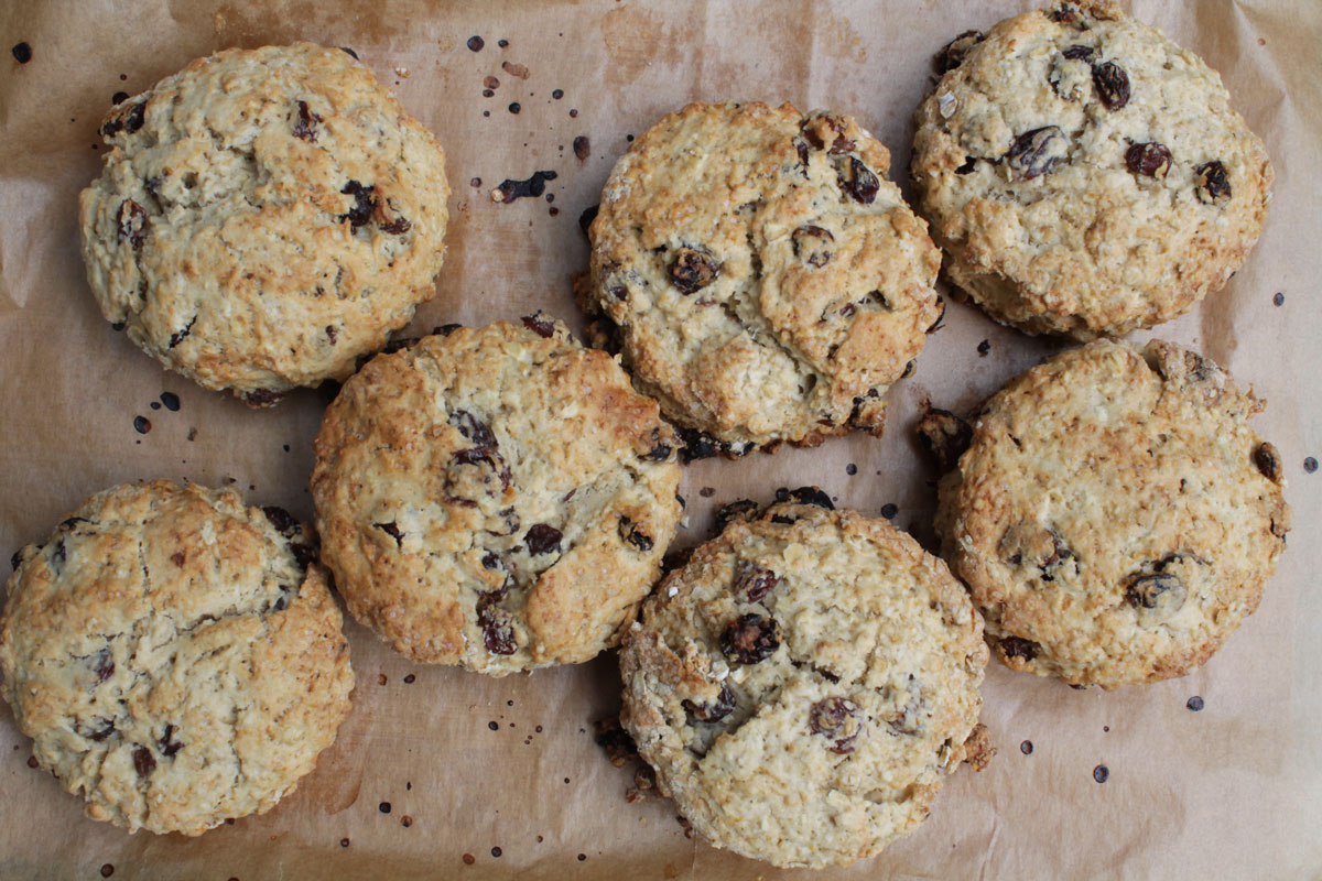 havermoutscones