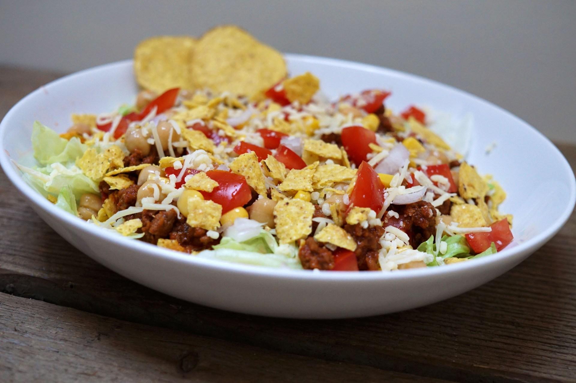 nacho-salade
