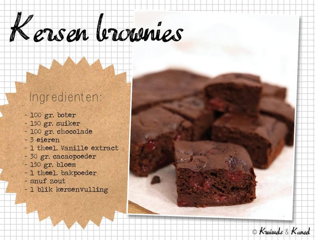 kersen brownies