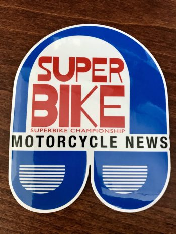 Motorcycle News sticker