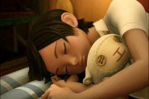 cotton sleeping