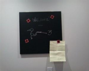 Clock Chalkboard