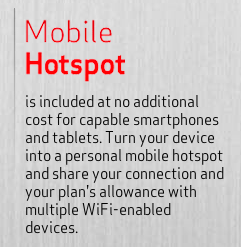 Verizon Share Everything Plan - Mobile Hotspot