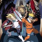 naruto the movie 2 - the great clash! the phantom ruins in the depths of the earth poster