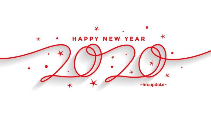 การ์ดอวยพรปีใหม่ 2563  Happy New Year 2020