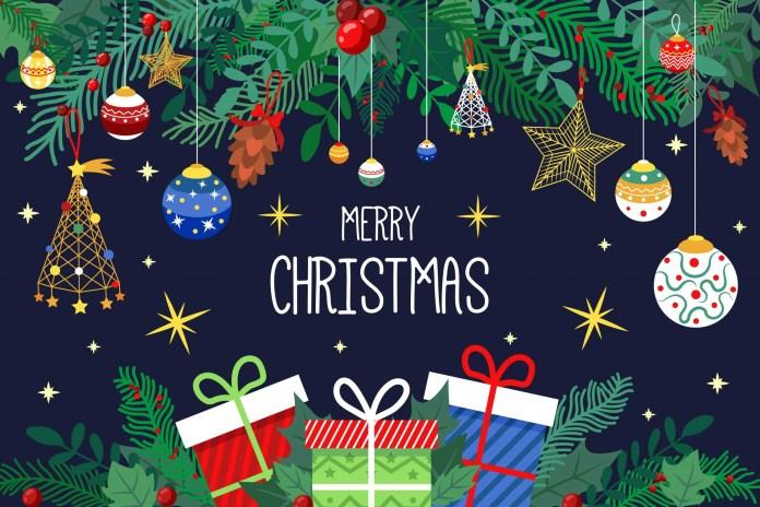 ดาวน์โหลดไฟล์ ภาพพื้นหลัง จัดงาน วันคริสต์มาส Christmas Day