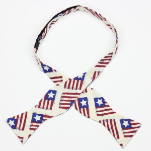 Liberia 1847 self tie bow tie by Kruwear