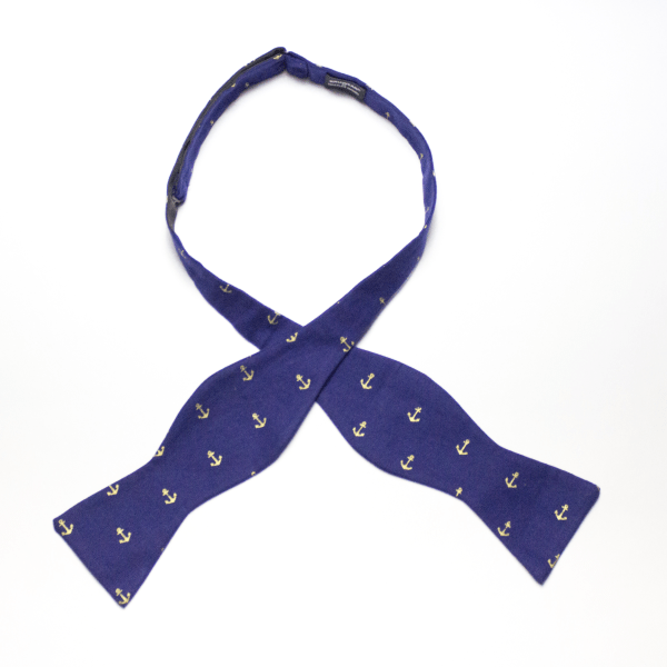 Freeport of Monrovia self-tie bow tie