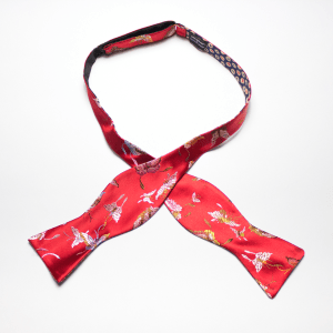 Grand Bassa self tie reversible bow tie