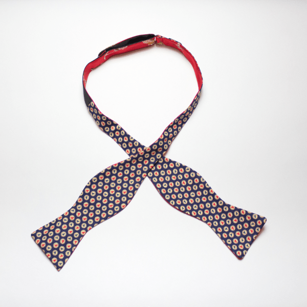 Grand Bassa self tie reversible bow tie by Kruwear