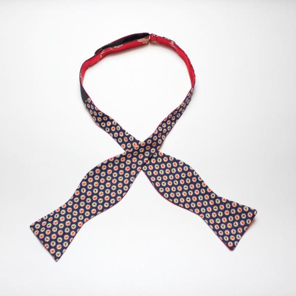 Grand Bassa self tie reversible bow tie by Kruwear