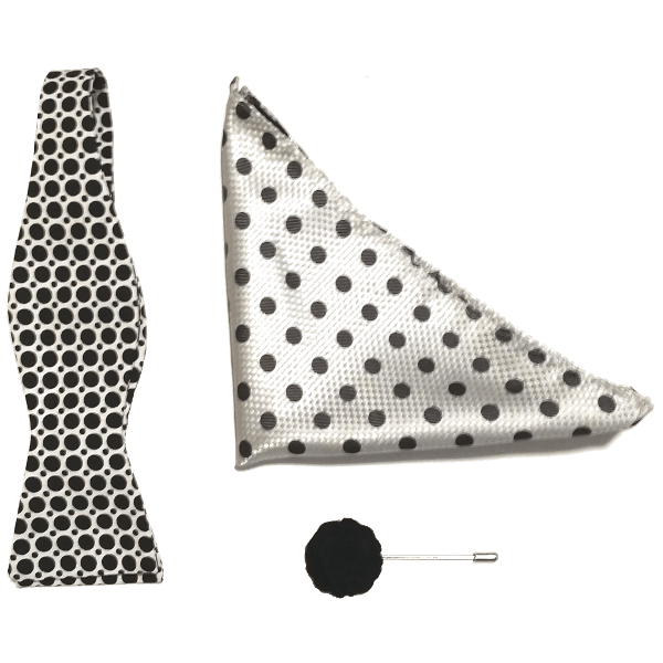 Chicago-based menswear bow ties gift set.