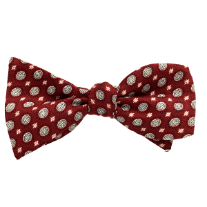 JavaScript is a 100% cotton self-tied bow tie by Kruwear