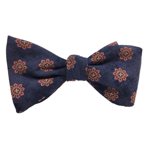 MySQL is a 100% self-tied bow tie by Kruwear