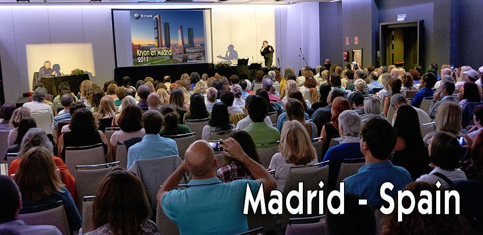 Kryon em Espanha 2017 - Reunião de Madeid 17 de setembro