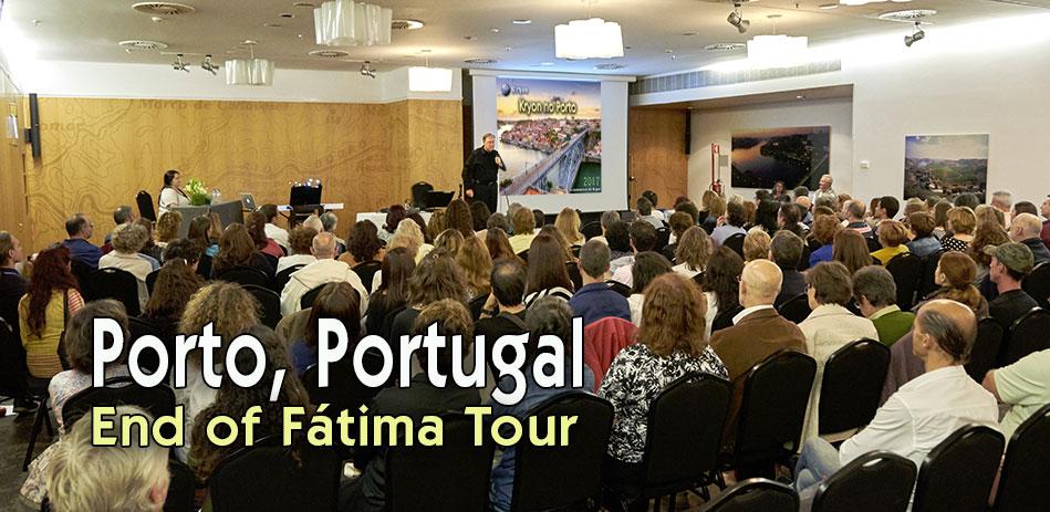 Reunião final da Excursão a Fátima - Kryon no Porto 2017
