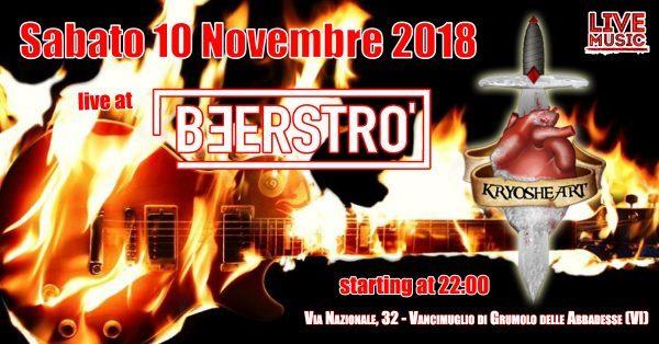 Kryosheart live @ Beerstrò