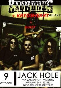 KRYOSHEART live @ Jack Hole