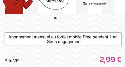 Nouvelle vente privée Freemobile a 2€99 ce soir a 19h!