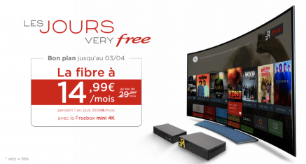 Les jours Very Free – La Fibre à 14€99
